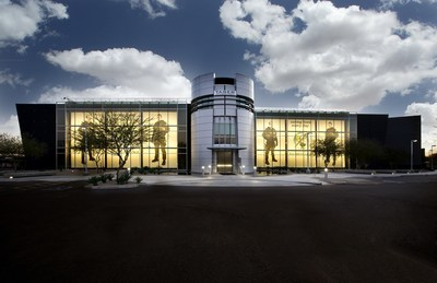 TASER's HQ in Scottsdale, AZ. TASER is a technology solutions provider with its TASER Smart Weapons that protect life and AXON body-worn law enforcement cameras that protect truth. Photo courtesy of TASER International, Scottsdale, Arizona USA.