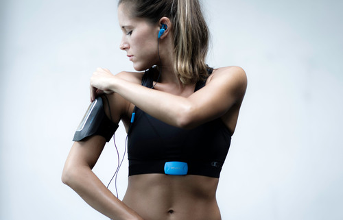 PEAR Sports - Worlds smartest training solution - real time heart-rate monitoring and audio coaching.  (PRNewsFoto/PEAR Sports)