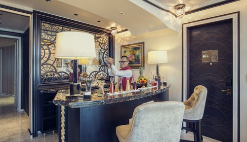 Health shots made to order by expert mixologists (PRNewsFoto/The St. Regis Abu Dhabi)