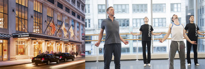 "JW Marriott Hotels and the Joffrey Ballet bring ""Poise & Grace"" To Service Culture (PRNewsFoto/JW Marriott Hotels & Resorts)"