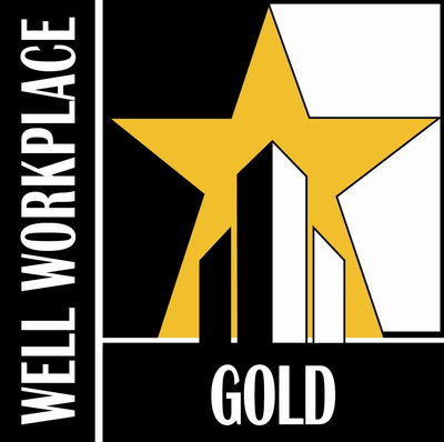 WELCOA Gold Well Workplace Awarded to R&R Insurance Services of Waukesha, WI. (PRNewsFoto/R&R Insurance Services)