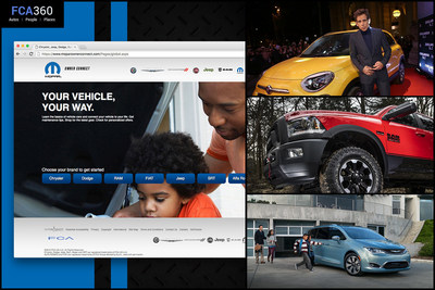 Each month, the digital magazine FCA360 provides in-depth feature articles about FCA US LLC and its Alfa Romeo, Chrysler, Dodge, FIAT, Jeep(R), Ram, Mopar and SRT vehicles and products.