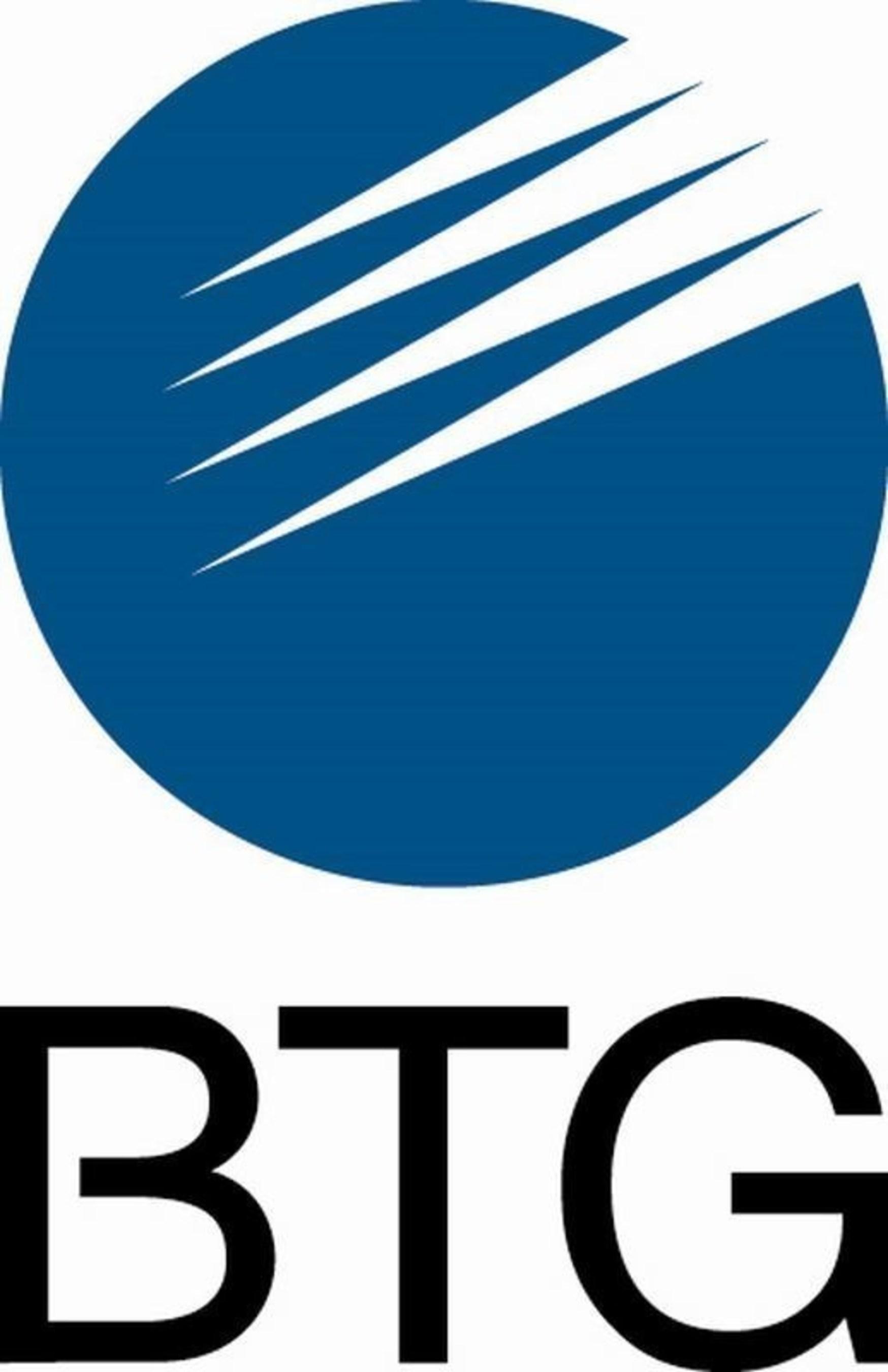 BTG Logo (PRNewsFoto/BTG Plc) (PRNewsFoto/BTG Plc)