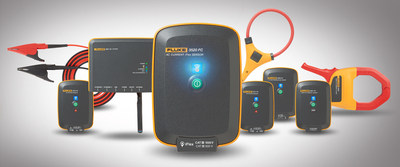 Fluke Conditioning Monitoring is a new system of rugged voltage, current, temperature, and power sensors that can be moved from asset to asset or left in place for continuous monitoring to support condition-based maintenance programs.