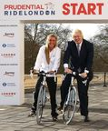 Prudential RideLondon announcement - Boris Johnson & Laura Trott