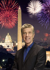 Manipulated Image: Tom Bergeron hosts A CAPITOL FOURTH  on PBS, Wednesday, July 4 at 8 p.m. ET (check local listings).  (PRNewsFoto/Capital Concerts)