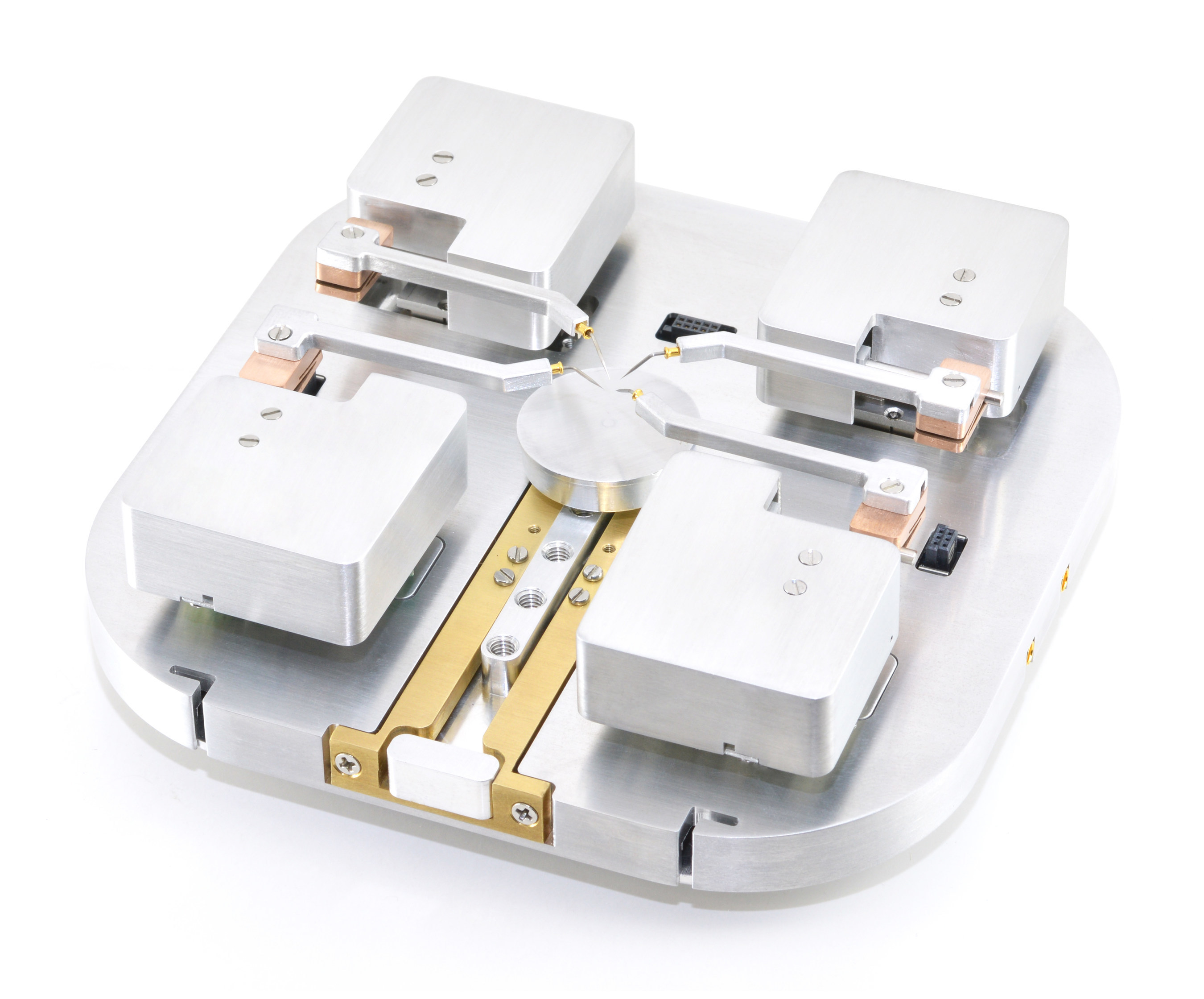 The Nanomanipulation System has four arms in operation