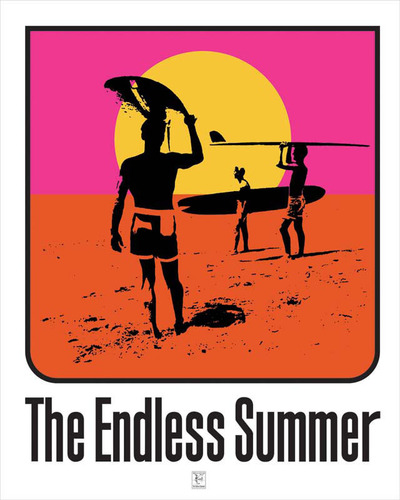 The Endless Summer movie poster from 1964.  (PRNewsFoto/The Content Agency, Inc.)