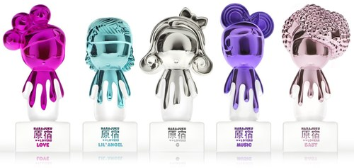 "Harajuku Lovers ""Pop Electric"" Fragrance collection (PRNewsFoto/HSN)"