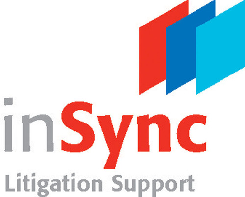 inSync Logo.  (PRNewsFoto/inSync Litigation Support)