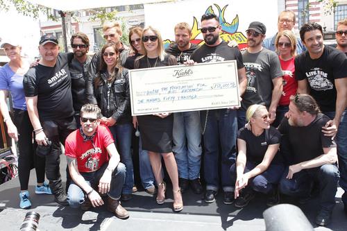 amfAR Global Fundraising Chairman, Sharon Stone, Accepts $150,000 Donation From Kiehl's Since 1851