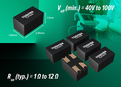 Toshiba's new photorelays are housed in the industry's smallest package
