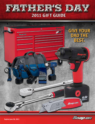 Give Dad the Best for Father's Day: Snap-on.  (PRNewsFoto/Snap-on Tools)
