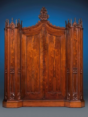 Henry Clay Rosedown Plantation Armoire  Donated to Louisiana State Museum by M.S. Rau Antiques