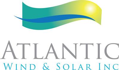 Atlantic Wind & Solar Inc. Logo. (PRNewsFoto/Atlantic Wind and Solar Inc.) (PRNewsFoto/)