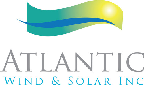 Atlantic Wind & Solar Inc. Logo.  (PRNewsFoto/Atlantic Wind and Solar Inc.)