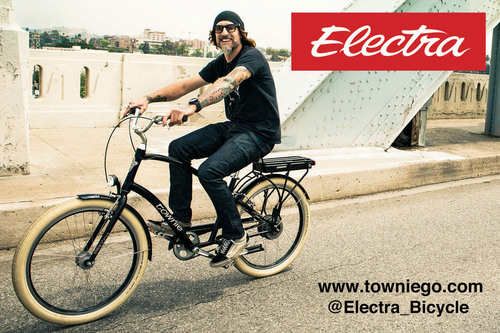 Electra Rolls Out Townie Go! The Simple, Fun & Friendly Pedal-Assist Bike. The Smile-Inducing, Stealthy Rechargeable Bicycle Technology from the Leader in Lifestyle Cycling. www.towniego.com.  (PRNewsFoto/Electra Bicycle Company)