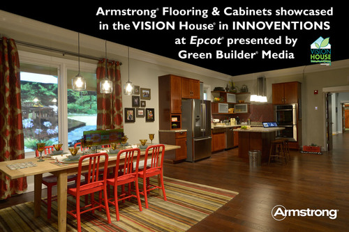 Sustainable Hardwood Flooring And Cabinetry From Armstrong Featured ...