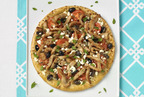 Jennie-O Turkey Mediterranean Pizza - a creative recipe for taking advantage of Thanksgiving leftovers.  (PRNewsFoto/Jennie-O Turkey Store)