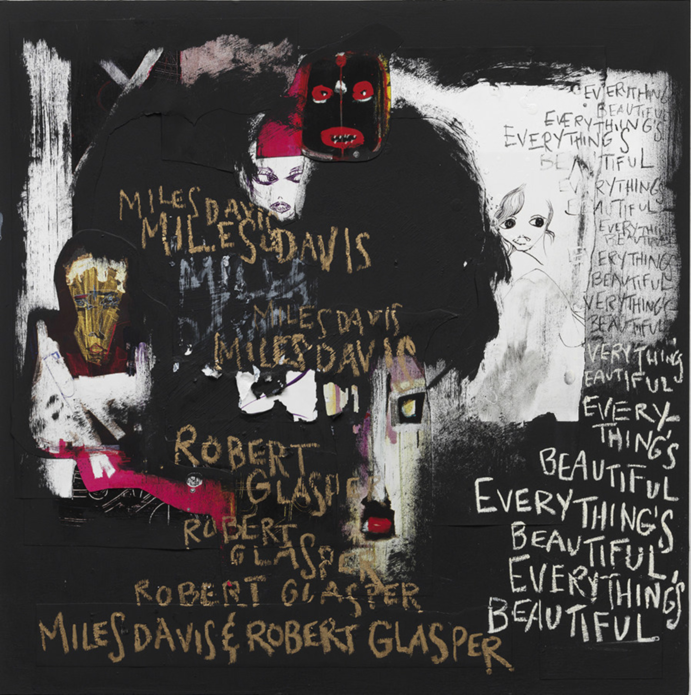 A visionary exploration of the music of Miles Davis, EVERYTHING'S BEAUTIFUL incorporates Davis' original recordings into new collaborative soundscapes and will be available Friday, May 27 (the day after Miles' 90th birthday).