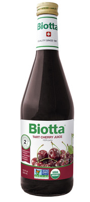 Biotta's new Tart Cherry Juice