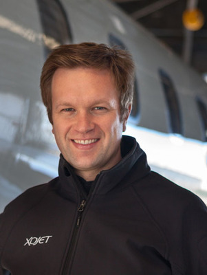 XOJET CEO Brad Stewart.  (PRNewsFoto/XOJET)