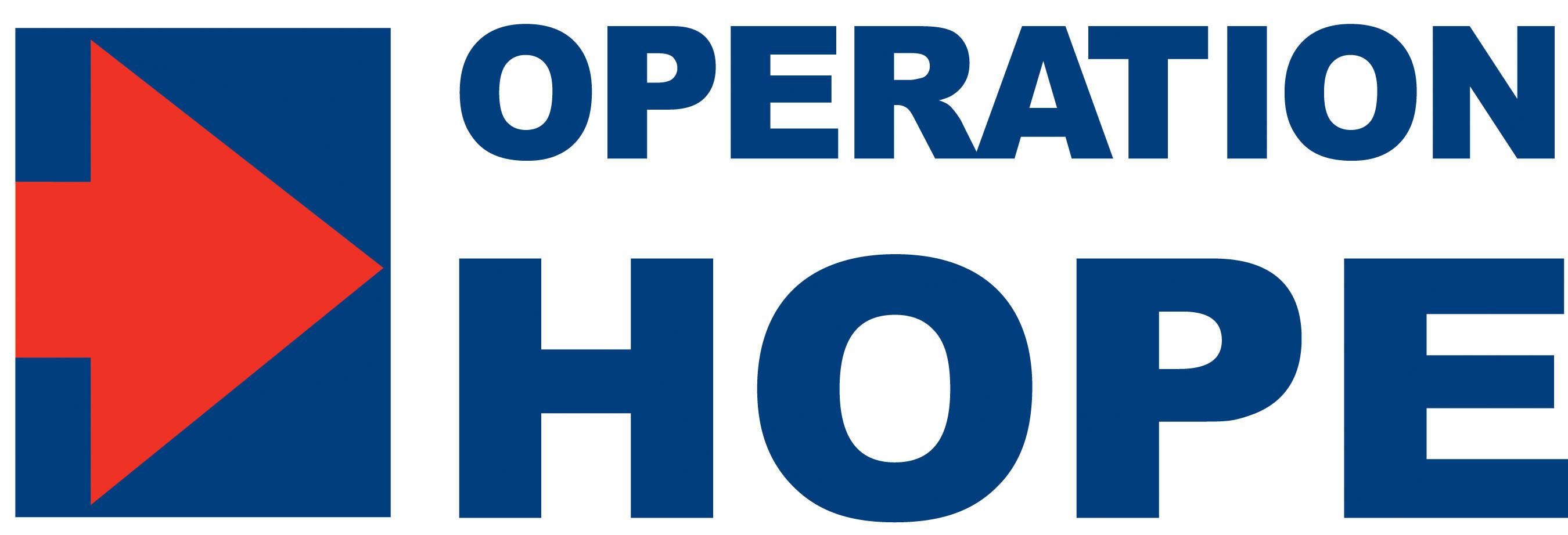 Operation HOPE Logo. (PRNewsFoto/Operation HOPE)