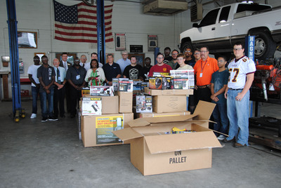 Harbor Freight Tools Expands Tools For Schools Program; Harbor Freight Donates a $100,000 Gift of Tools and Equipment to South Carolina Schools. (PRNewsFoto/Harbor Freight Tools) (PRNewsFoto/HARBOR FREIGHT TOOLS)