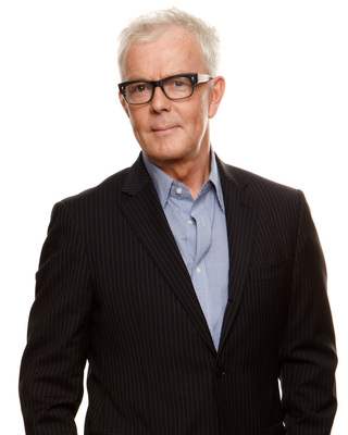 """John Barrett, Chairman and Creative Director, John Barrett Holdings. Legendary hairstylist, salon owner, and beauty industry icon known for his transformational work, approachable-yet-sophisticated take on beauty and his """"simply chic"""" style."""