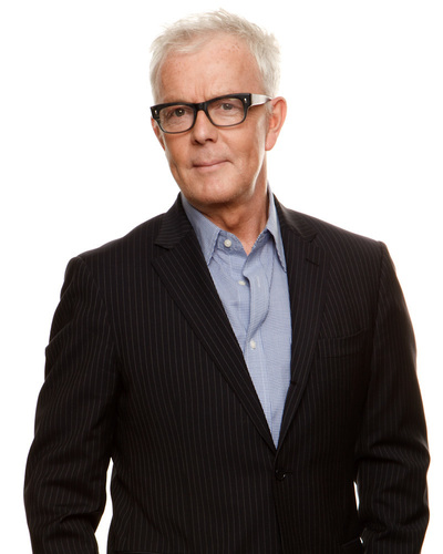 """John Barrett, Chairman and Creative Director, John Barrett Holdings. Legendary hairstylist, salon owner, and beauty industry icon known for his transformational work, approachable-yet-sophisticated take on beauty and his """"simply chic"""" style. (PRNewsFoto/John Barrett Holdings )"""