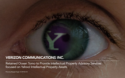Ocean Tomo Serves as Intellectual Property Advisor to Verizon In Advance of Acquisition of Yahoo! Verizon Communications Inc. Retained Ocean Tomo to Provide Intellectual Property Advisory Services focused on Yahoo! Intellectual Property Assets