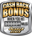 Quaker State Rewards Motorists With Cash for Holding Onto Their Vehicles Longer.  (PRNewsFoto/Quaker State(R))