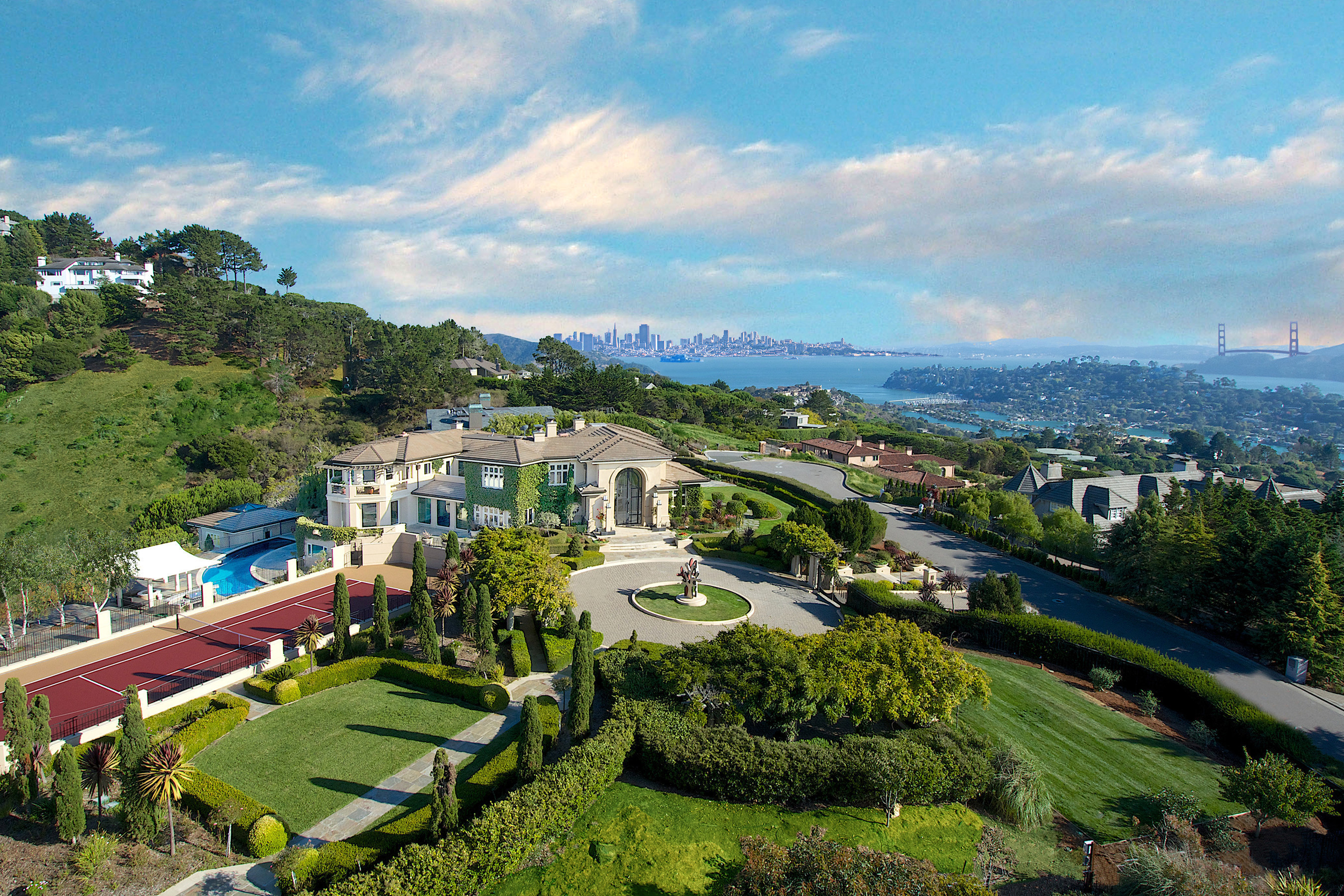 Bill Bullock and Lydia Sarkissian Break Luxury Home Sales Record in Marin