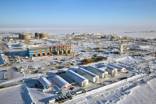 Yamal site by courtesy of Novatek (PRNewsFoto/AEG Power Solutions)