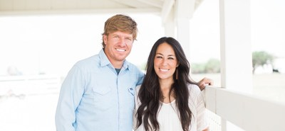 Left to right: Chip and Joanna Gaines