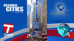 ClearTV and Branded Cities partner to bring Tennis Channel to Times Square on spectacular digital screens throughout the U.S. Open (PRNewsFoto/ClearTV Ltd.)