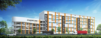 Artist's impression of Mapletree Benoi Logistics Hub.  (PRNewsFoto/Menlo Worldwide Logistics)