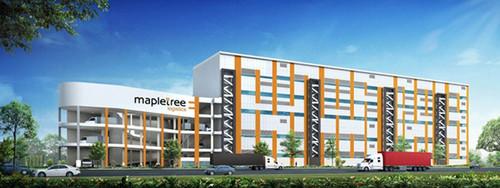 Artist's impression of Mapletree Benoi Logistics Hub.  (PRNewsFoto/Menlo Worldwide Logistics)