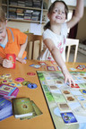 "Robot Turtles(TM) by ThinkFun(R), the first board game to teach coding skills to kids as young as four, is now available nationwide. Robot Turtles began as a Kickstarter project where it became the most-backed board game in the history of the popular crowd-funding site. Awarded a ""Best Toy for Kids"" by the American Specialty Toy Retailing Association, Robot Turtles is sold at Target stores and on Target.com in addition to neighborhood toy stores. MSRP: $24.99 (PRNewsFoto/ThinkFun)"