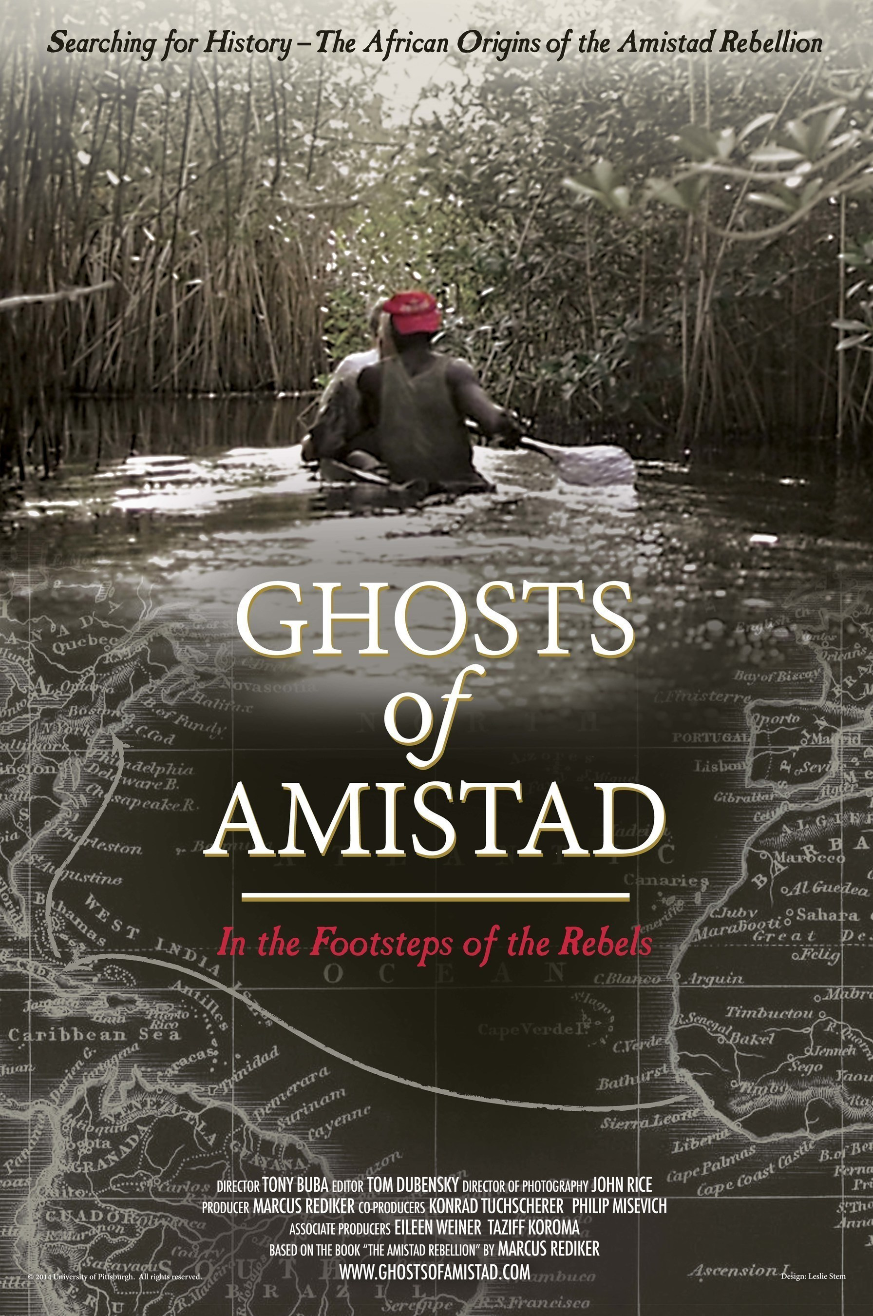A Film by Tony Buba and Marcus Rediker, 'Ghosts of Amistad: In the Footsteps of the Rebels,' Will