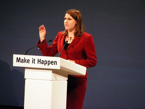 Jo Swinson MP has worked tirelessly over the last couple of years as part of the government's Body Confidence campaign. The campaign has been working with the retail industry and others to promote positive body image and combat the cultural messages that can undermine women's confidence and resilience. A symptom of these cultural messages is that 72% of girls feel strongly that too much attention is paid to the way female celebrities look. A figure Jo Swinson describes as 'shocking'. (PRNewsFoto/Forward 3D Ltd)