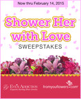 Get 2 Chances to Win the Ultimate Valentine's Day Sweepstakes, Hosted by From You Flowers & Eve's Addiction