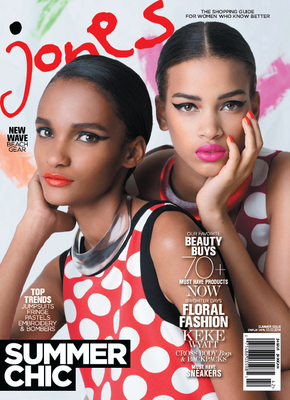 """Jones Magazine Brings Bright Colors And """"Summer Chic"""" In The Latest Issue On Newsstands Nationwide June 25th"""