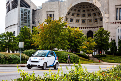 car2go Expands to The Ohio State University Campus. (PRNewsFoto/car2go North America LLC) (PRNewsFoto/CAR2GO NORTH AMERICA LLC)