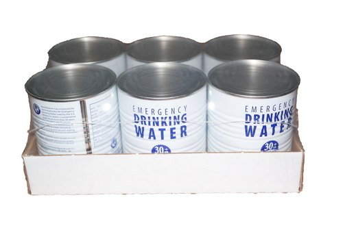 Emergency Drinking Water safe for more than 30 years! worldgrocer.com (PRNewsFoto/World Grocer)