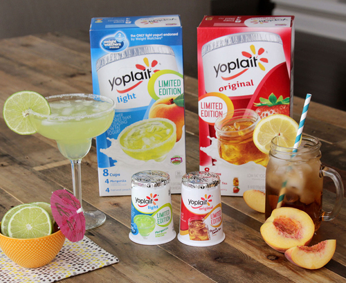 By popular demand, yogurt lovers can again enjoy the creamy goodness of Yoplait(R) yogurt spring seasonal flavors–Yoplait Light margarita and Yoplait Original sweet tea-flavored yogurt–but only for a limited time.  (PRNewsFoto/Yoplait)