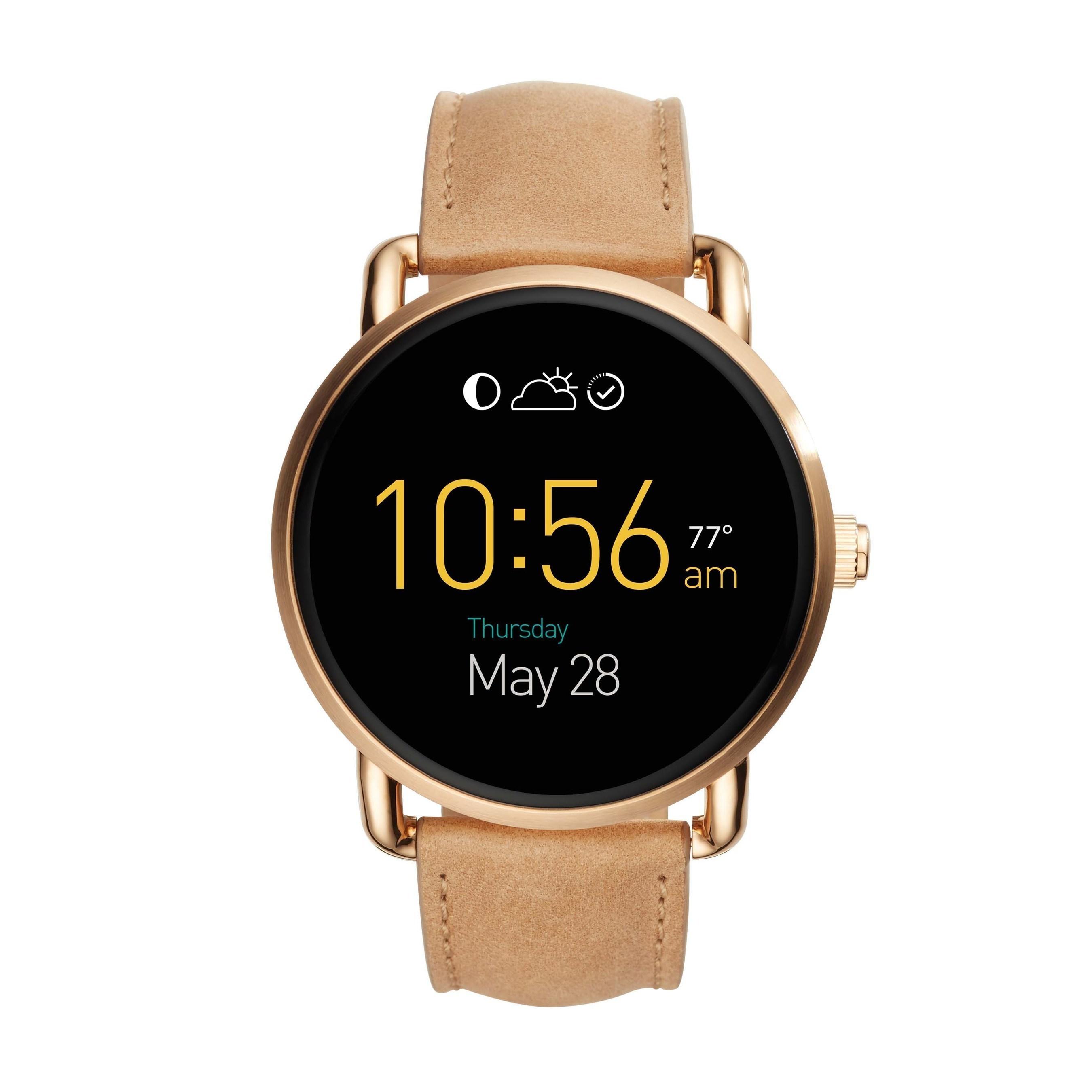 Fossil kündigt zur Baselworld die Vorstellung neuer, schlankerer Android-Wear™-Smartwatches,
