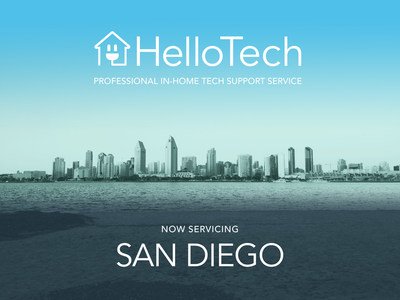 HelloTech launches on demand tech support in San Diego with special Mother's Day promotion