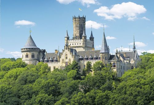A visit to Marienburg Castle is a must, located in the Hanover Region. (c) EAC GmbH (PRNewsFoto/Hannover Marketing und Tourismus)