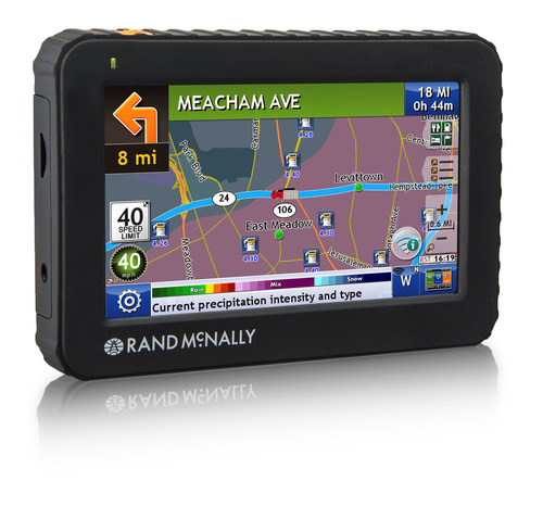 """Rand McNally Introduces its Next Generation 5"""" Truck GPS Device: IntelliRoute(R) TND(TM) 520 is Wi-Fi(R) ..."""